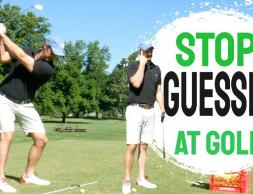 Most Important Golf Lesson | Consistent Golf Swing Can be Yours (If You Stop Guessing at Golf) ! ⛳🏌