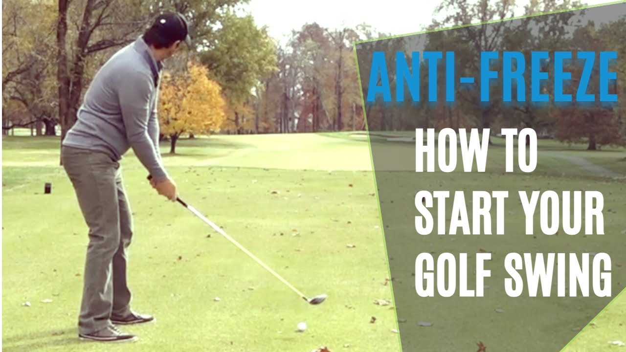 How to start golf swing for consistency and smooth tempo.