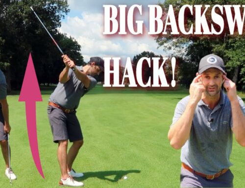Cheeky Drill To Wind Your Backswing Easily For A Powerful Pivot 🏌️‍♂️ 🏆
