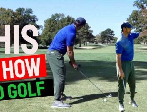 How To Play Golf Better: No It's Not Mechanics And Yes You Can Do It !