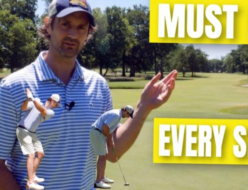 How To Play Better Golf On The Course ➡️ Do This Common Sense Golf Tip To End Frustration