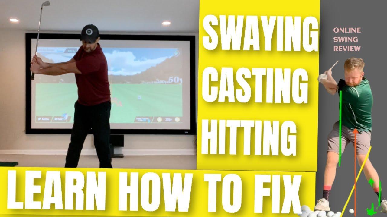 stop swaying golf swing