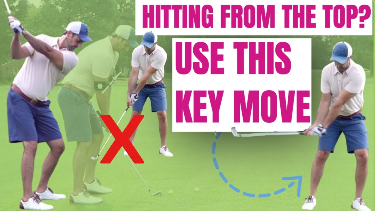 stop golf downswing
