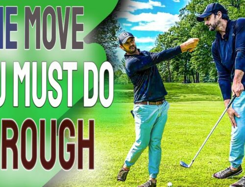 STOP Hitting AT The Ball Is So Much Easier With THIS ONE Feel | Golf Tips From The Pros 🏌⛳