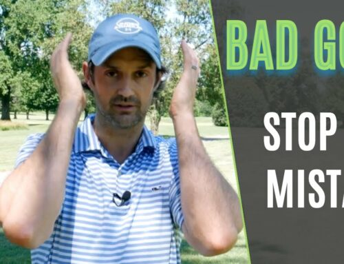 Biggest Mistakes In Golf While Hitting a Shot (It's obvious and easy to stop too!)