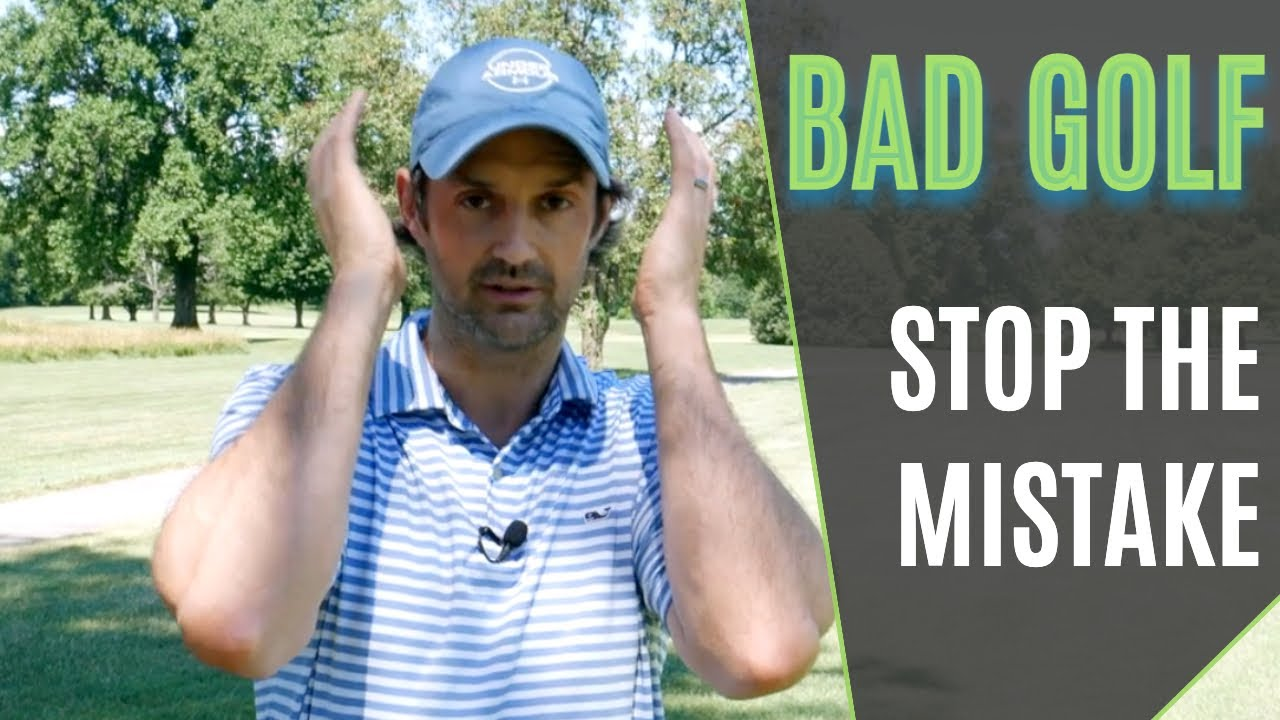 mistakes in golf