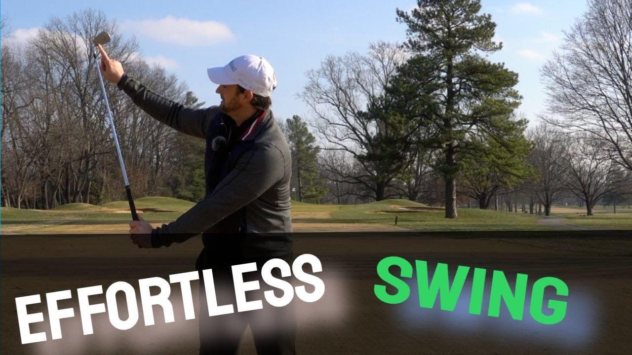 effortless golf swing