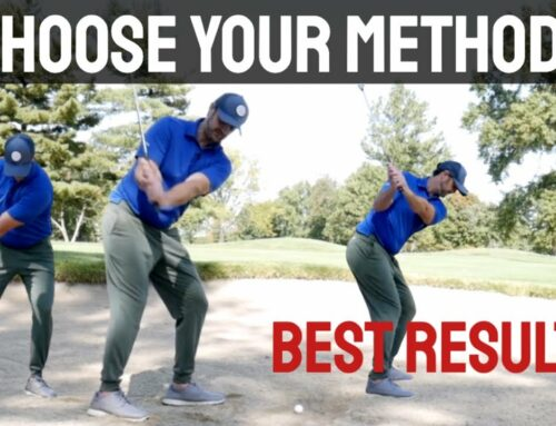 Choose ONE To Hit Bunker Shots Perfectly (Crazy Simple Techniques)