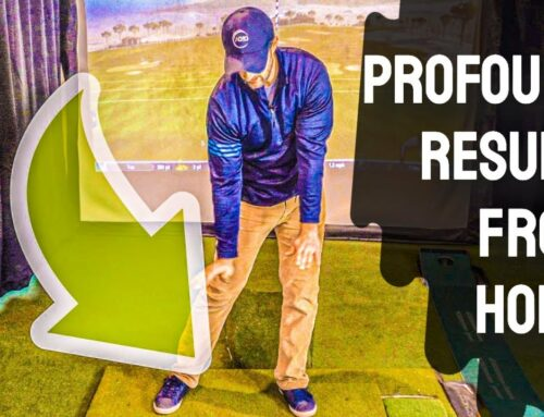 These Golf Swing Sequence Moves Will Give FANTASTIC Results (Practice Golf At Home Drills) 🏌🏠