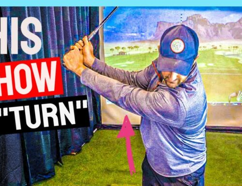 Stop Trying To Make A Backswing Turn | WIND Up Your Golf Swing Like THIS