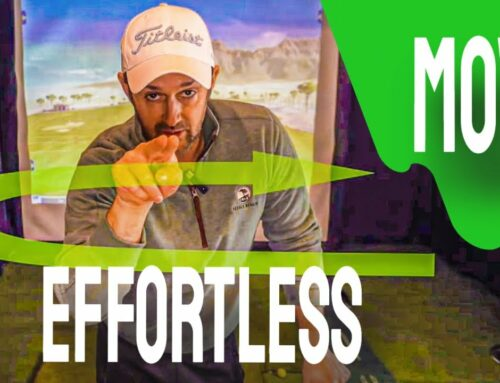 How To Play Better Golf Easily With This ONE Move For An EFFORTLESS Golf Swing
