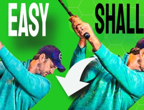 How To Shallow The Club EASILY and NATURALLY For More Power And Consistency