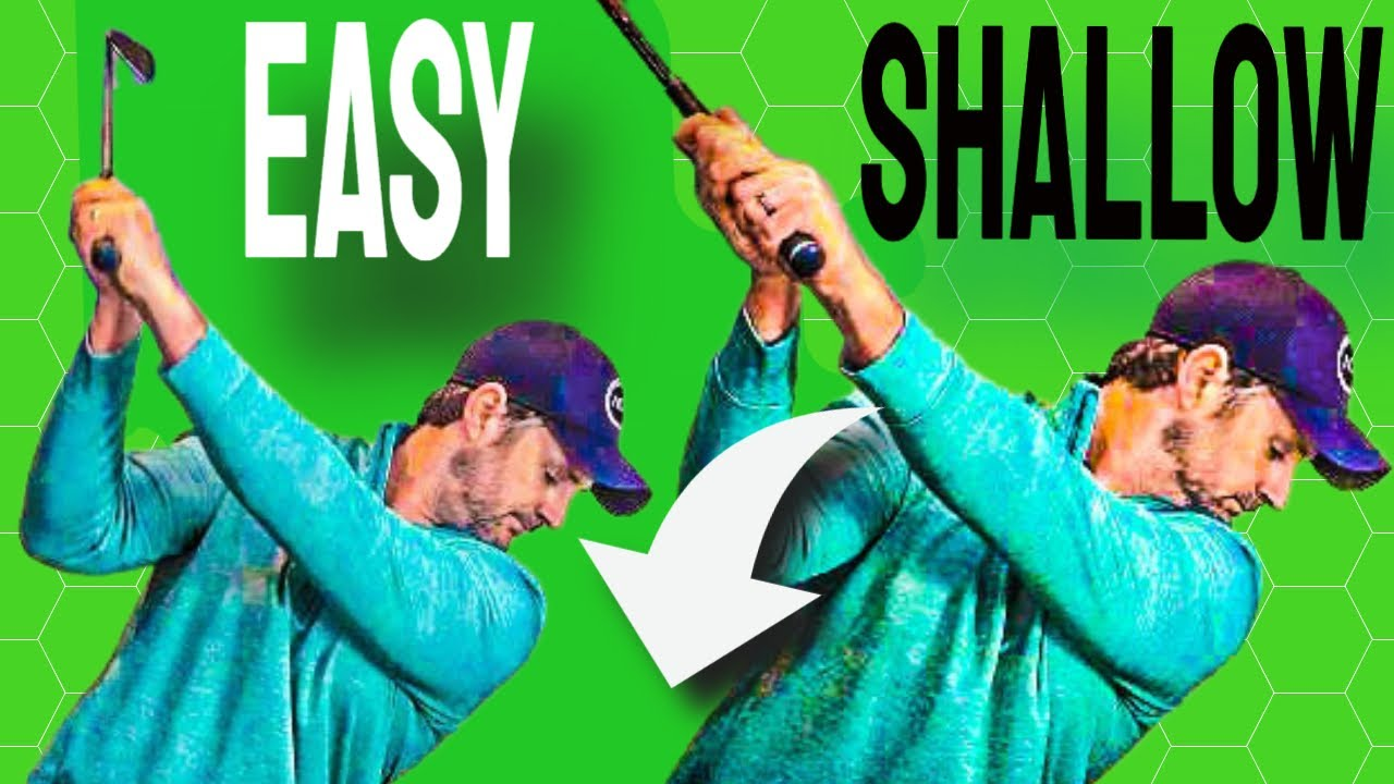 shallow the club on downswing