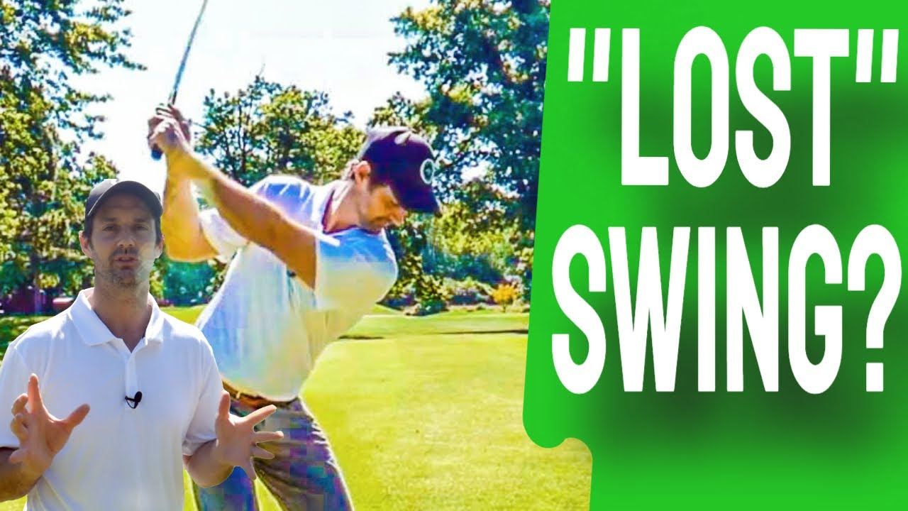 what to do when. you lose your golf swing