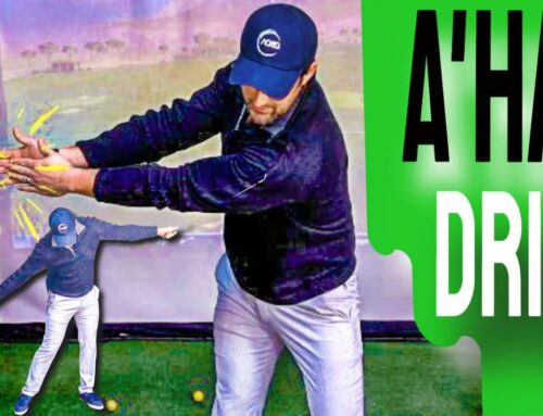 Do THIS To Get That A'HA Golf Swing Feel | The Golf Swing Made SIMPLE Arm Drill