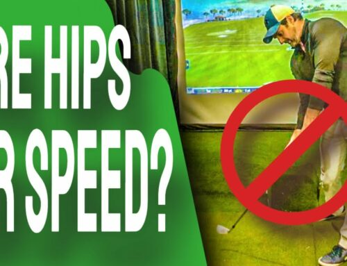 STOP Firing Hips Golf Swing | Increase Clubhead SPEED Without Big Rotation For All Ages