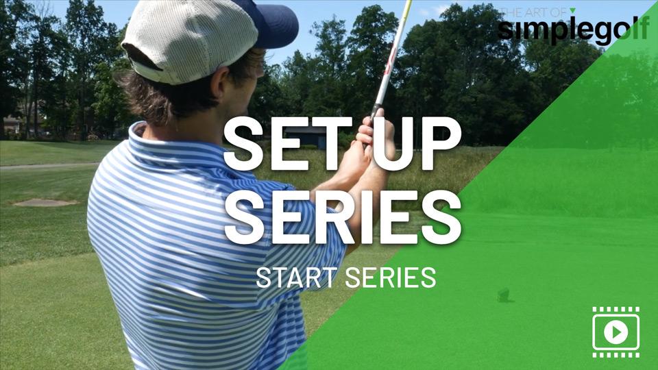 set up series golf