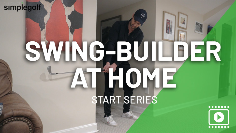 golf swing training at home