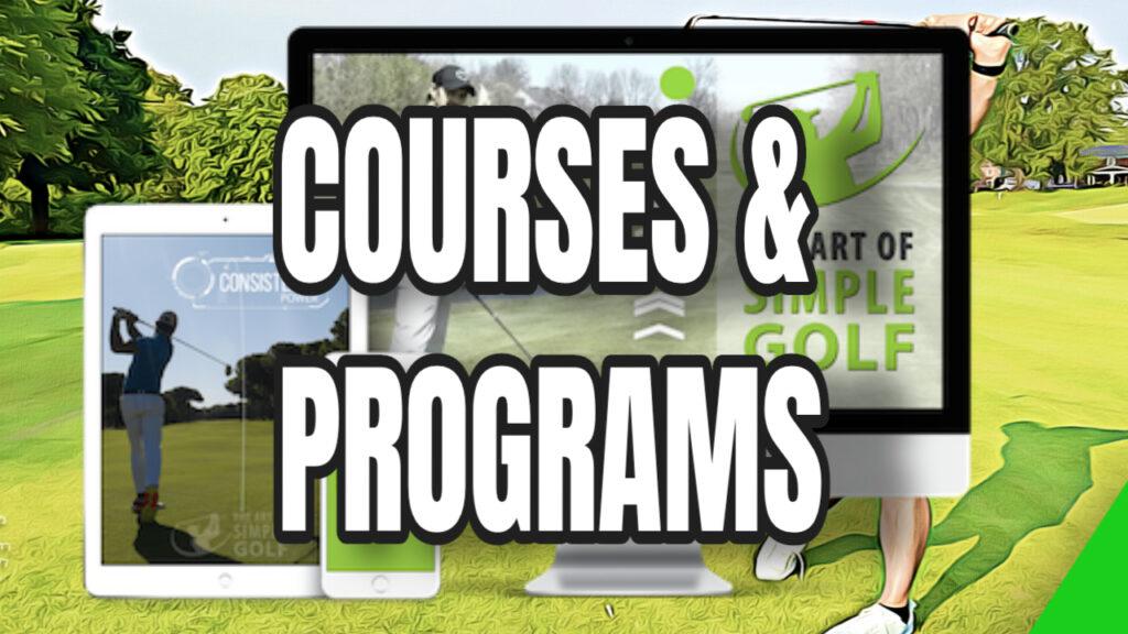 simple golf programs
