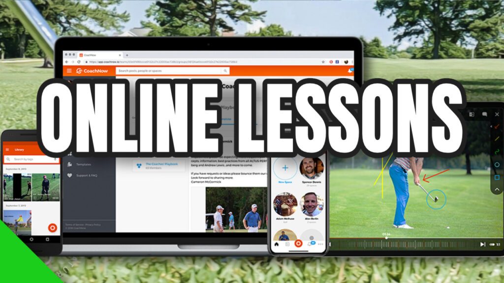 online golf lessons with alex fortey