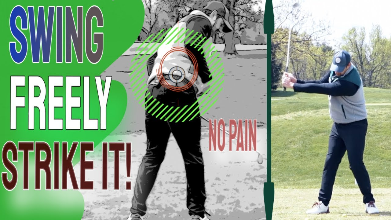 Easiest Tips For The Golf Swing To Play Your BEST Golf | No Golf Swing Back PAIN | Senior Golf Tips