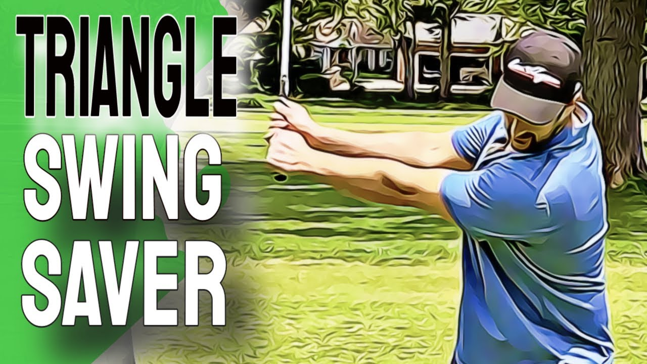 Use This EASY Golf Swing   This TRIANGLE Swing Will Clear Your Confused Brain On The Course