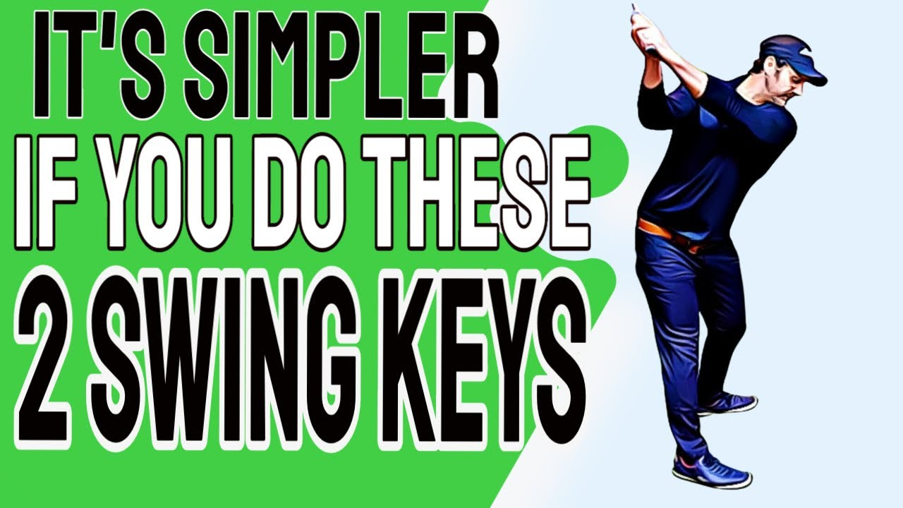 SIMPLE Golf Swing Transformation In One Day | Do These 2 Golf Swing Keys