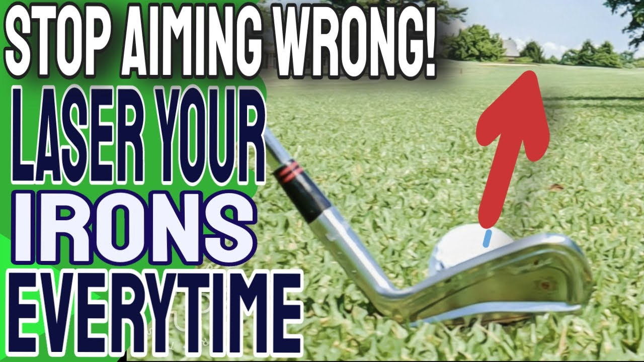 Stop Ruining Your Golf Swing And Do This EVERY TIME | How To Aim Clubface And Irons