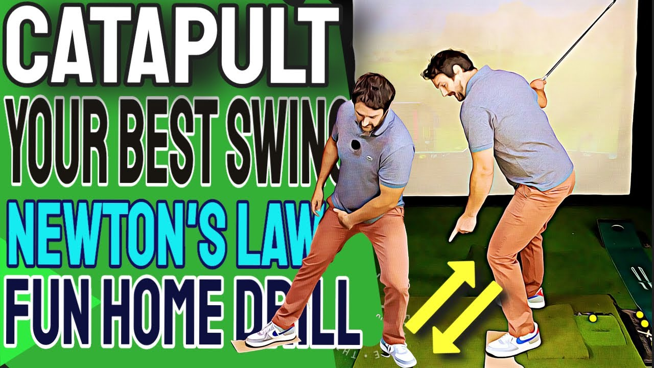 Use Some Cardboard For An Effortless Golf Swing - The Catapult Method | Use The Ground Golf Swing