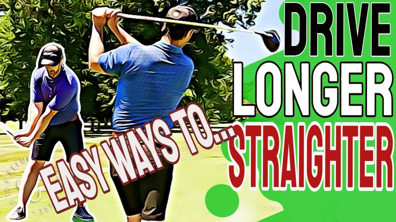 Easy Driver Golf Swing Tips To LAUNCH Longer And Straighter Golf Drives