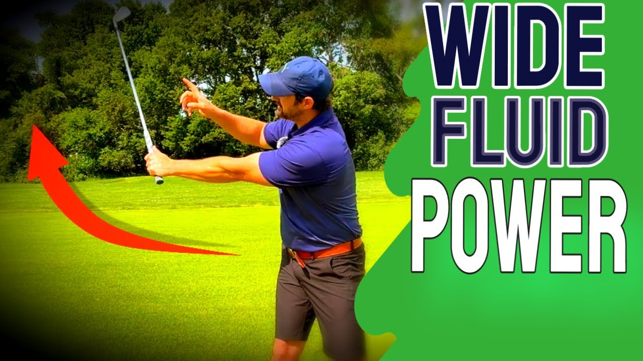 This Backswing Feel Is Golf Swing Gold | Easy Power And Width in golf swing