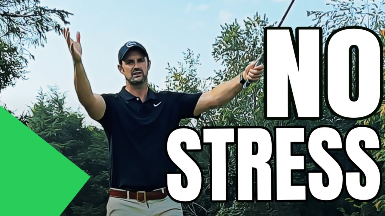 The Golf Swing Is Easier When Play STRESS FREE Golf