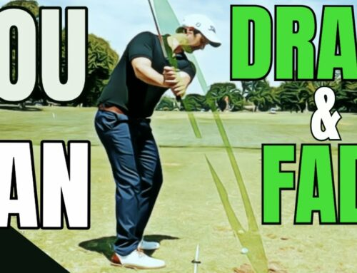 How To Hit Fades And Draws The Easier Way When You Do This