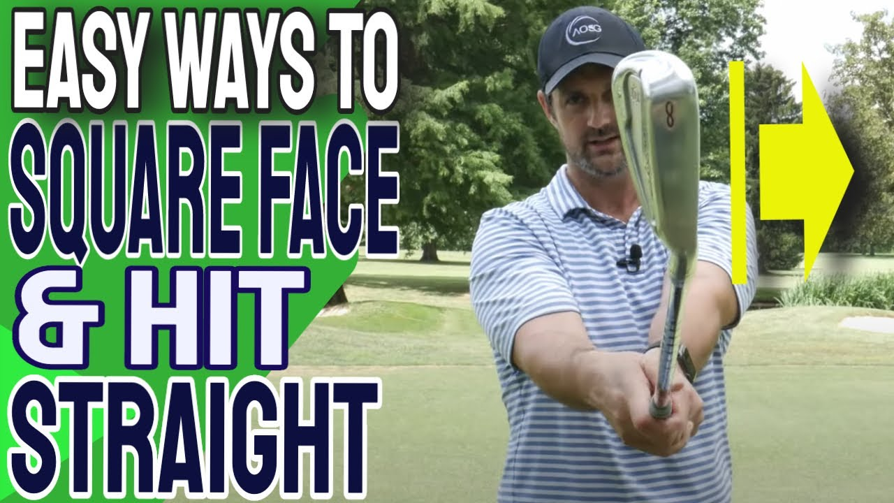 EASY HACKS to Hit Straight Golf Shots and Square The Clubface at Impact
