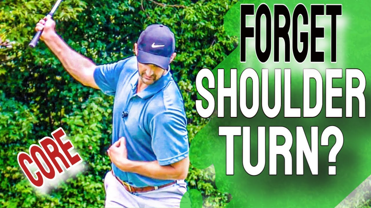 NO MORE Shoulder Turn In the Golf Swing - Do This With Your Rib Cage Instead!