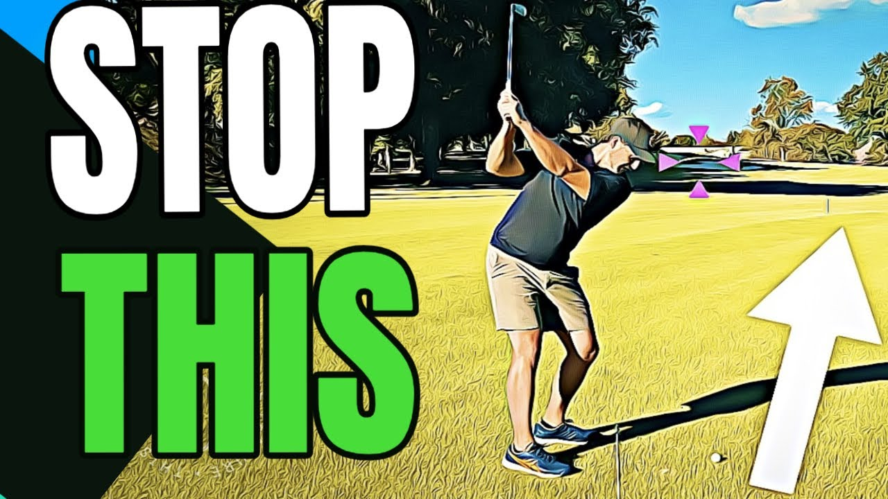 stop over the top golf swing